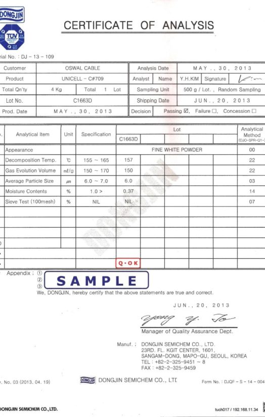 Blowing-agent-C-709-test-report-adcl-744x1024